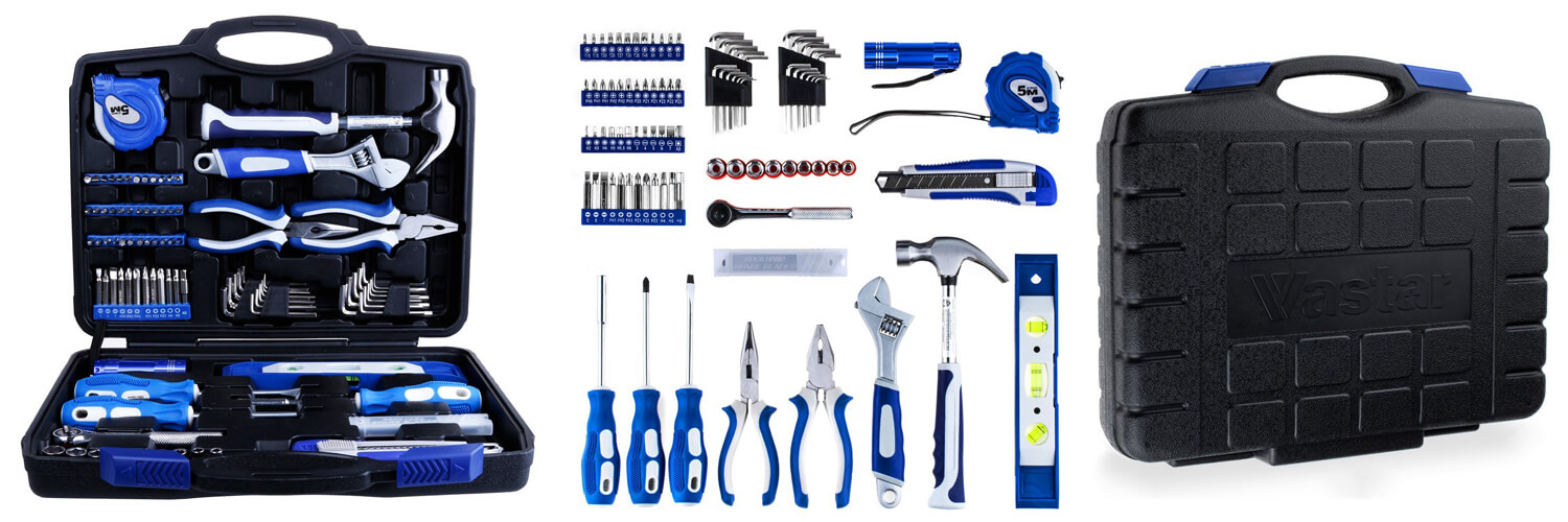 Vastar Home Repair Tool Kit