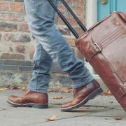 mens-leather-luggage carry on